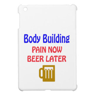 Body Building pain now beer later iPad Mini Covers