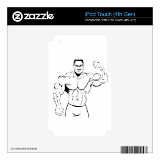 body-building skin for iPod touch 4G