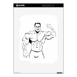body-building skins for iPad 2