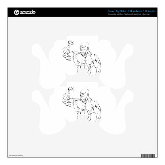 body-building skins for PS3 controllers