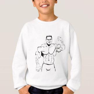body-building sweatshirt
