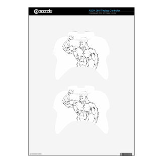 body-building xbox 360 controller skins
