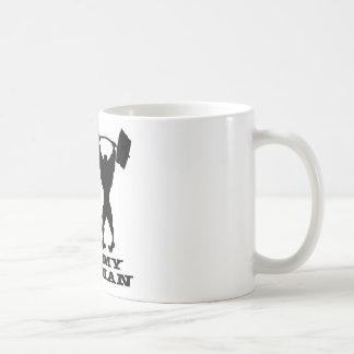 Body Building Your Man vs My Man Coffee Mug