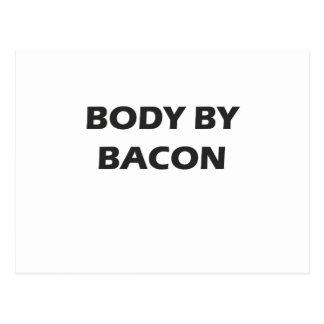 Body By Bacon Postcard
