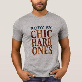 body by chicharrones bacon funny t-shirt design