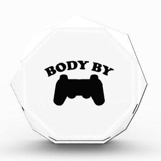 Body By Gaming Acrylic Award