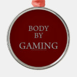 Body By Gaming Christmas Tree Ornaments