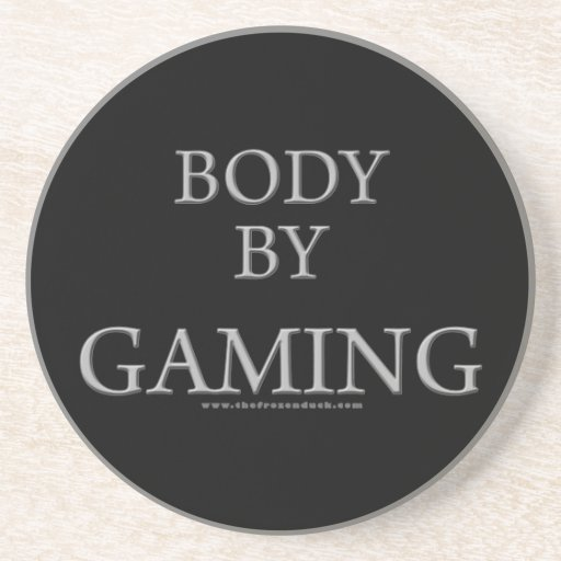 Body By Gaming Coaster
