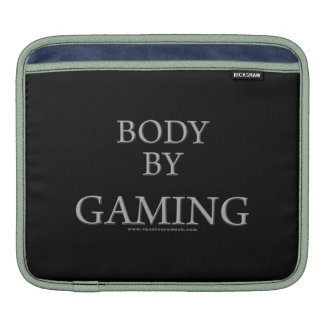 Body By Gaming iPad Sleeve
