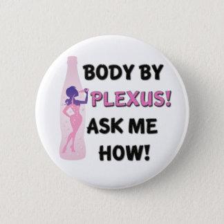 Body by Plexus Button! Pinback Button