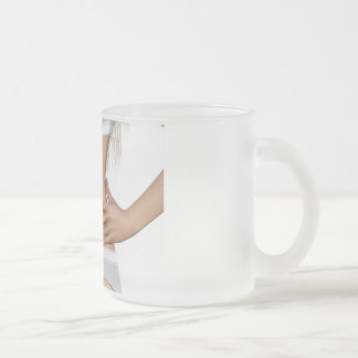 Body Contour Shaping and Aesthetic Industry Frosted Glass Coffee Mug