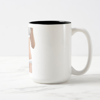 Body Contour Shaping and Aesthetic Industry Two-Tone Coffee Mug