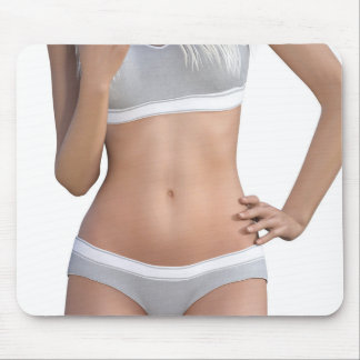 Body Contour Shaping and Aesthetics Mouse Pad