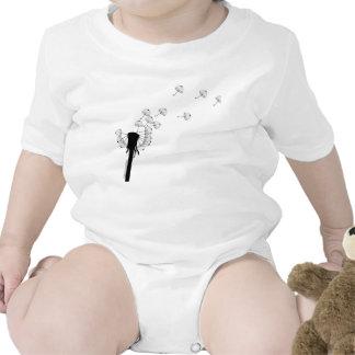 Body diente de león paraguas trajes de bebé