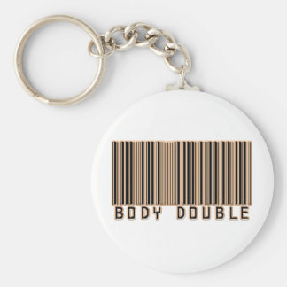 Body Double Barcode Key Chains
