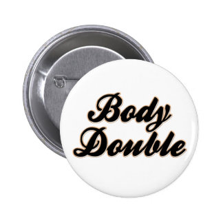 Body Double Baseball 2 Inch Round Button