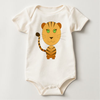 Body el tigre selva idea regalo bebé anaranjado ve enteritos
