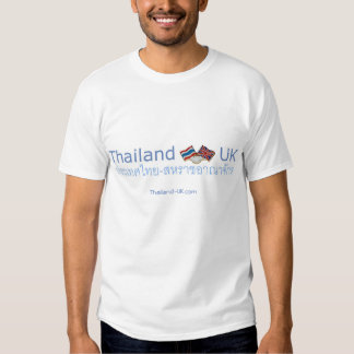 Body Farang, Heart Thai / Large Thailand-UK logo T Shirt