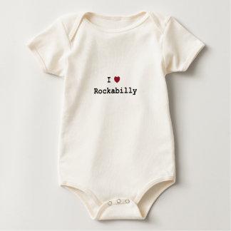 Body I love Rockabilly Baby Bodysuit