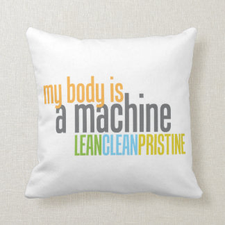 Body is a Machine Pillow