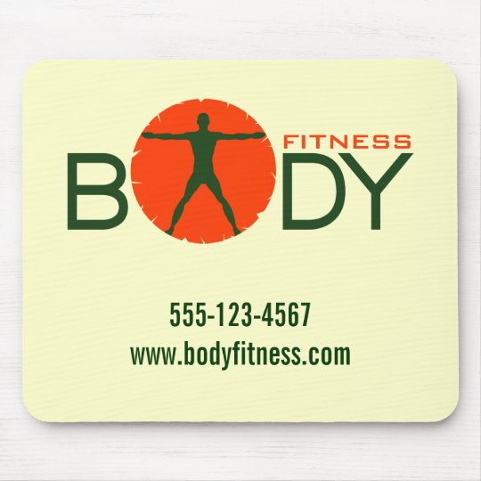 Body Madness Cream Personal Trainer Mouse Pads