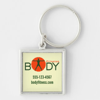 Body Madness Fitness Personal Trainer Key Chains Key Chain
