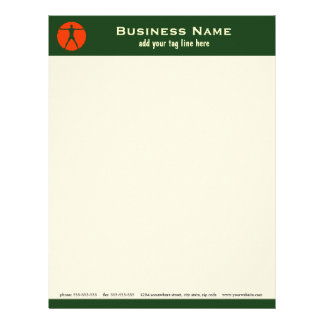 Body Madness Fitness Personal Trainer Letterhead Personalized Letterhead
