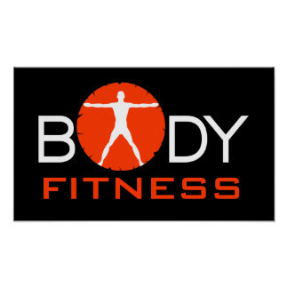 Body Madness Fitness Personal Trainer Posters Print