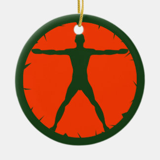 Body Madness Fitness Standard Round Ornaments