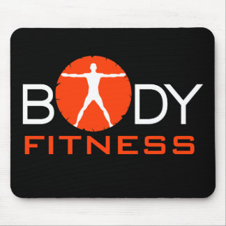 Body Madness Fitness Vitruvian Man Mouse Pads Mouse Pads