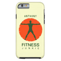 Body Madness Health Fitness Junkie iPhone 6 Cases
