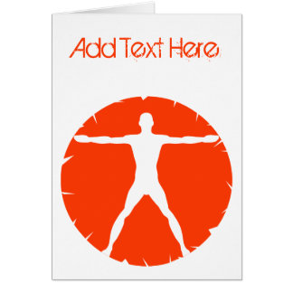 Body Madness Personal Trainer Folded Greeting Card