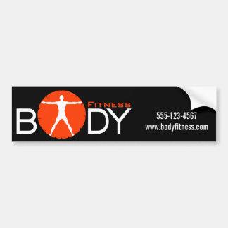 Body Madness Personal Trainer Promo Bumper Sticker