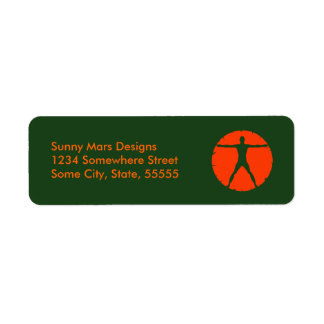 Body Madness Personal Trainer Return Address Label