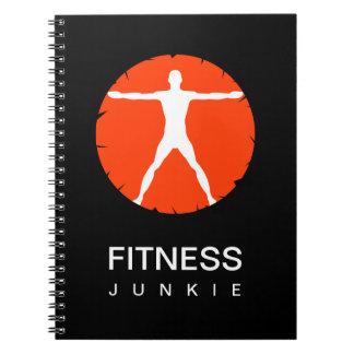 Body Madness Sports Fitness Junkie Custom Notebook Notebooks