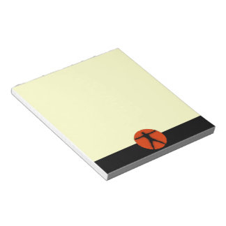 Body Madness Sports Fitness Junkie Custom Notepad Scratch Pad