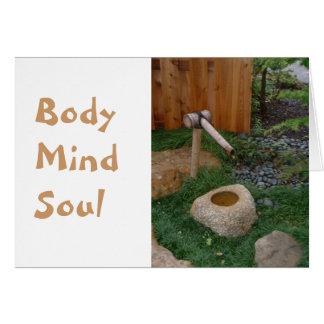 Body Mind Soul Card