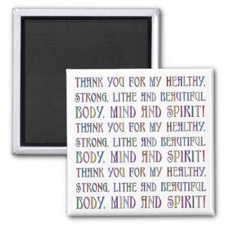 Body, Mind & Spirit Magnet