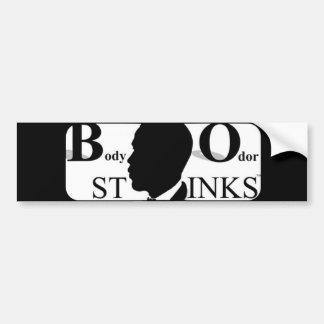 Body Odor Stinks Bumper Stickers