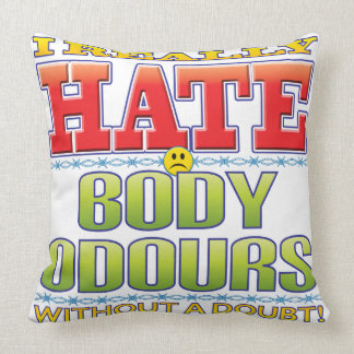 Body Odours Hate Face Pillows