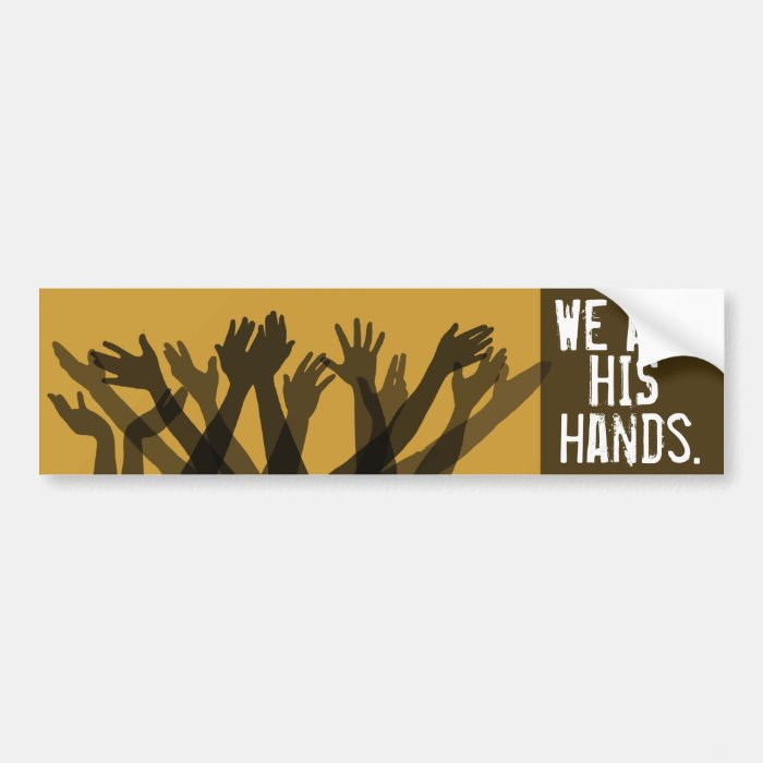 Body of Christ. Anointed.Healing.Heal the Sick Bumper Sticker