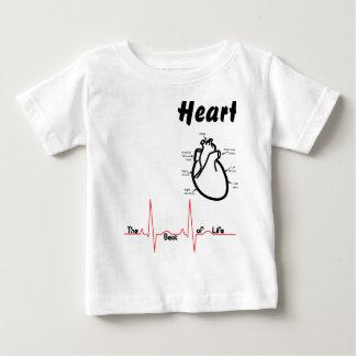 Body Parts -- Human Heart Baby T-Shirt