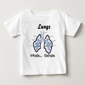 Body Parts -- Human Lungs Baby T-Shirt