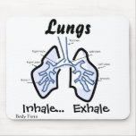 Body Parts -- Human Lungs Mousepads