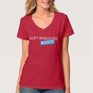 Body Rebooted Warrior Dark Red/Pink T Shirt