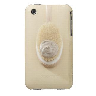 Body scrub brush with bath scrub iPhone 3 covers