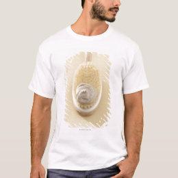 Body scrub brush with bath scrub T-Shirt