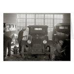 Body Shop auto, 1926 Tarjeta De Felicitación