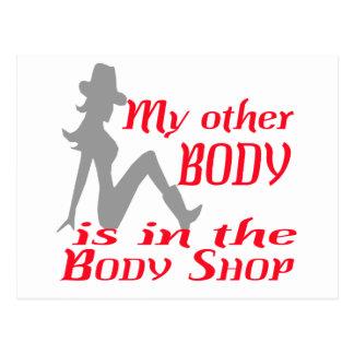 Body Shop Postales