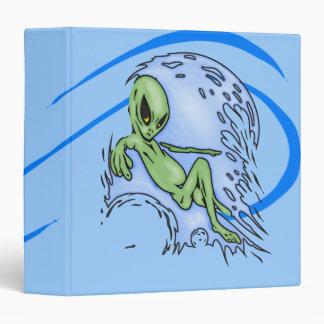 Body Surfing Alien Binder